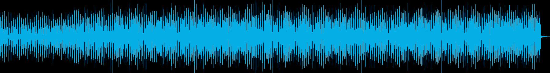 スピード感のある豪快なメロディーの再生済みの波形