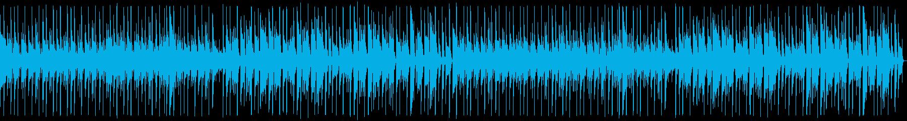 YouTube・ほのぼの・生演奏ギターの再生済みの波形