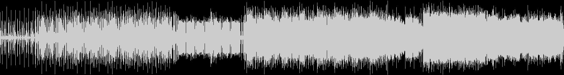 [ループ仕様]緩くてノリの良い日常曲の未再生の波形