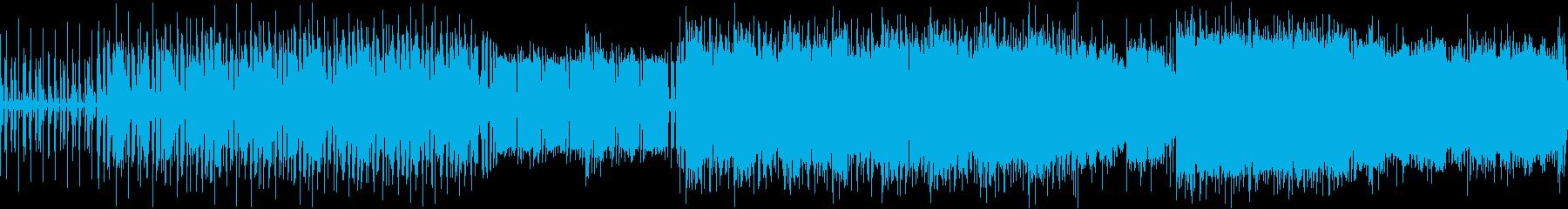 [ループ仕様]緩くてノリの良い日常曲の再生済みの波形
