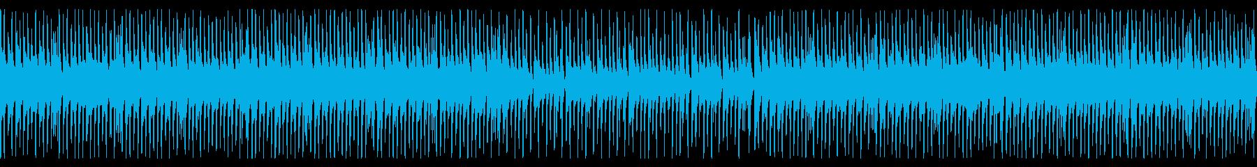 生演奏、軽快でかわいいカントリーポップの再生済みの波形