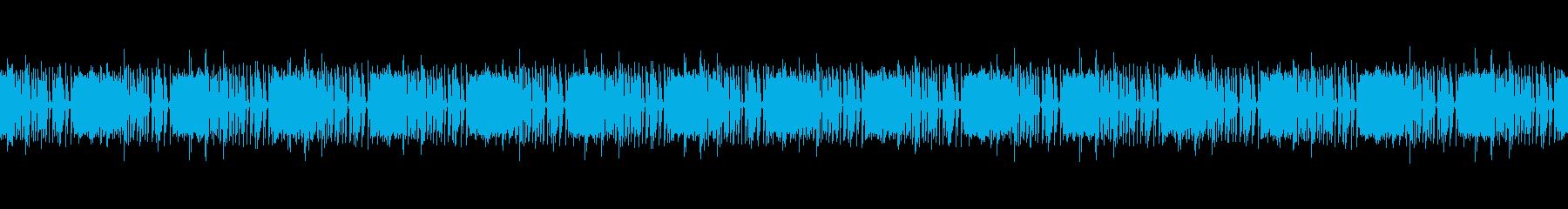 マシンガン中速連射 したイメージです。の再生済みの波形