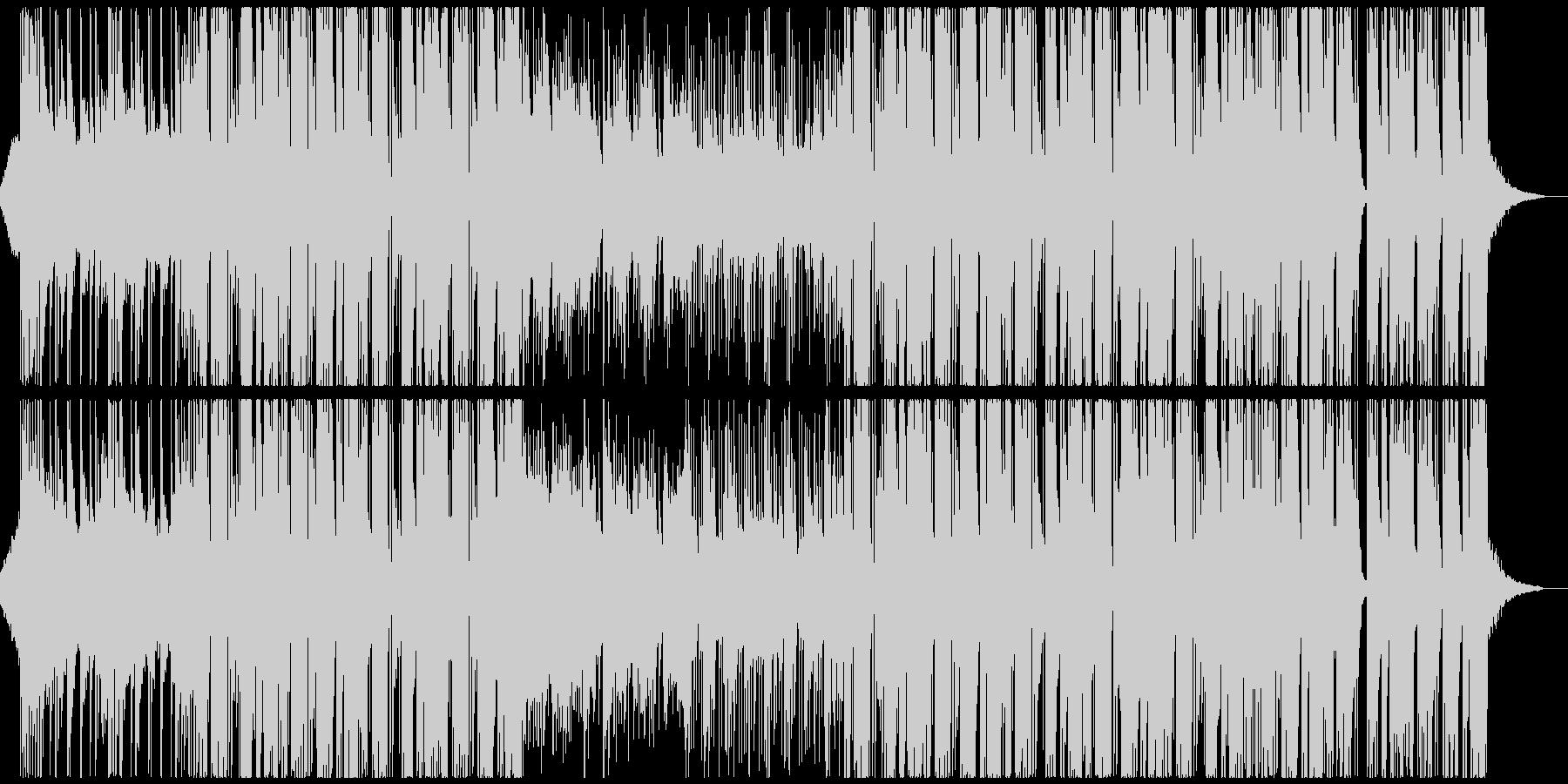 おしゃれな和風Future Bassの未再生の波形