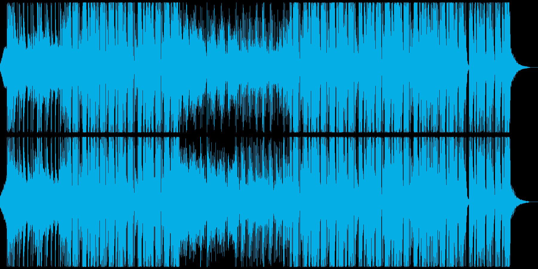 おしゃれな和風Future Bassの再生済みの波形