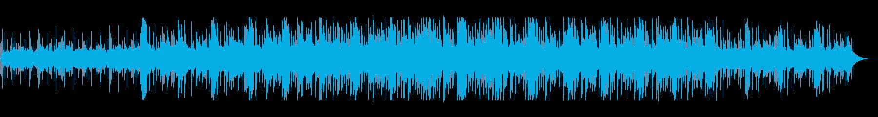 浮遊感あるかっこいい疾走感あるテクノの再生済みの波形