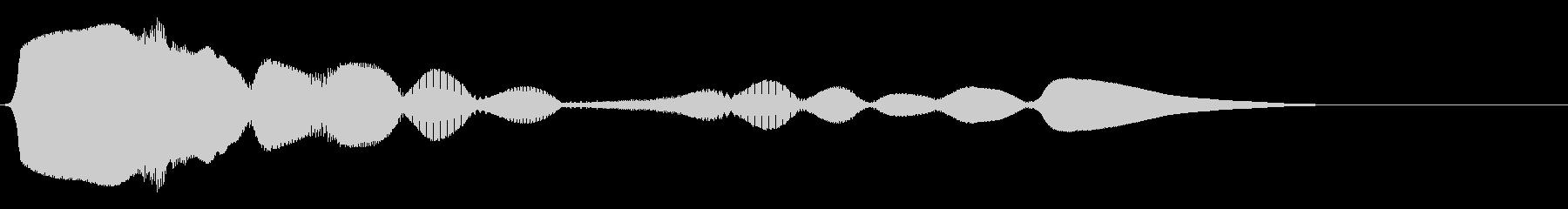 ハーモニカ:上下のアクセント、漫画...の未再生の波形