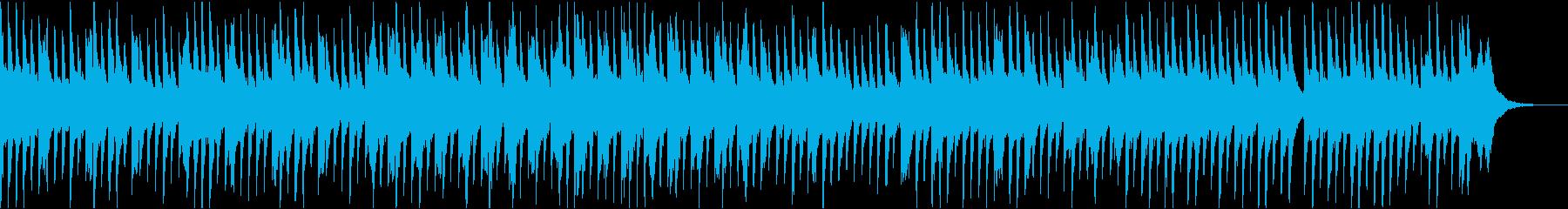 奇妙で怪しい雰囲気のワルツの再生済みの波形