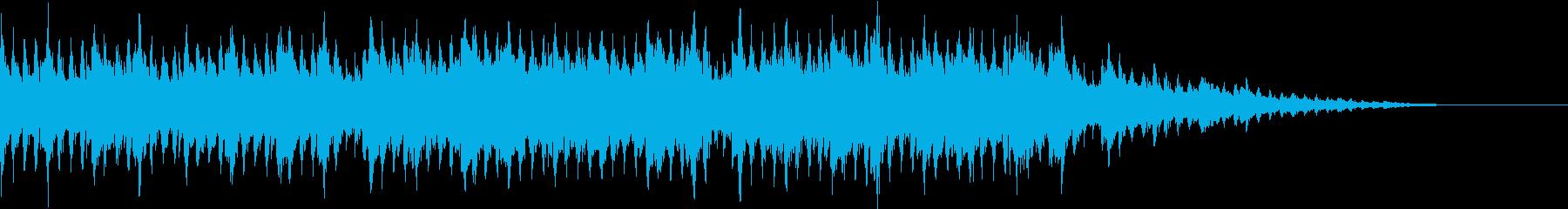 ゆったりしたオシャレなBGM 1の再生済みの波形