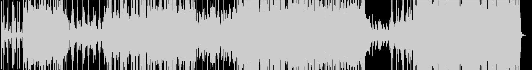 英語ネイティブのミドルテンポピアノロックの未再生の波形