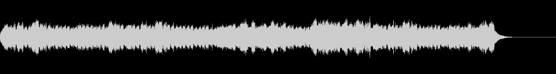 ゆったりとした雰囲気のミニ弦楽三重奏曲の未再生の波形