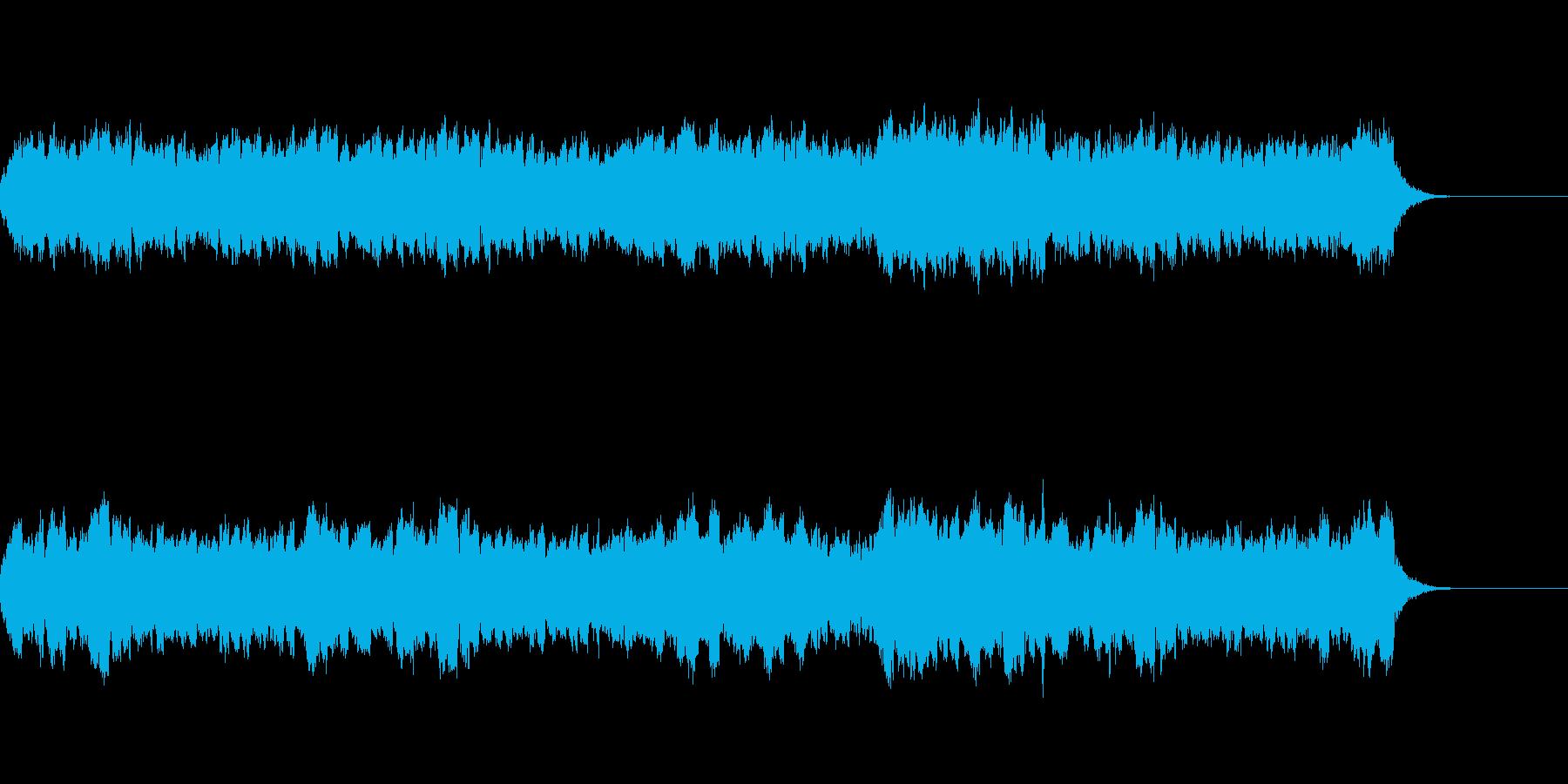 ゆったりと落ち着いた弦楽三重奏曲の再生済みの波形
