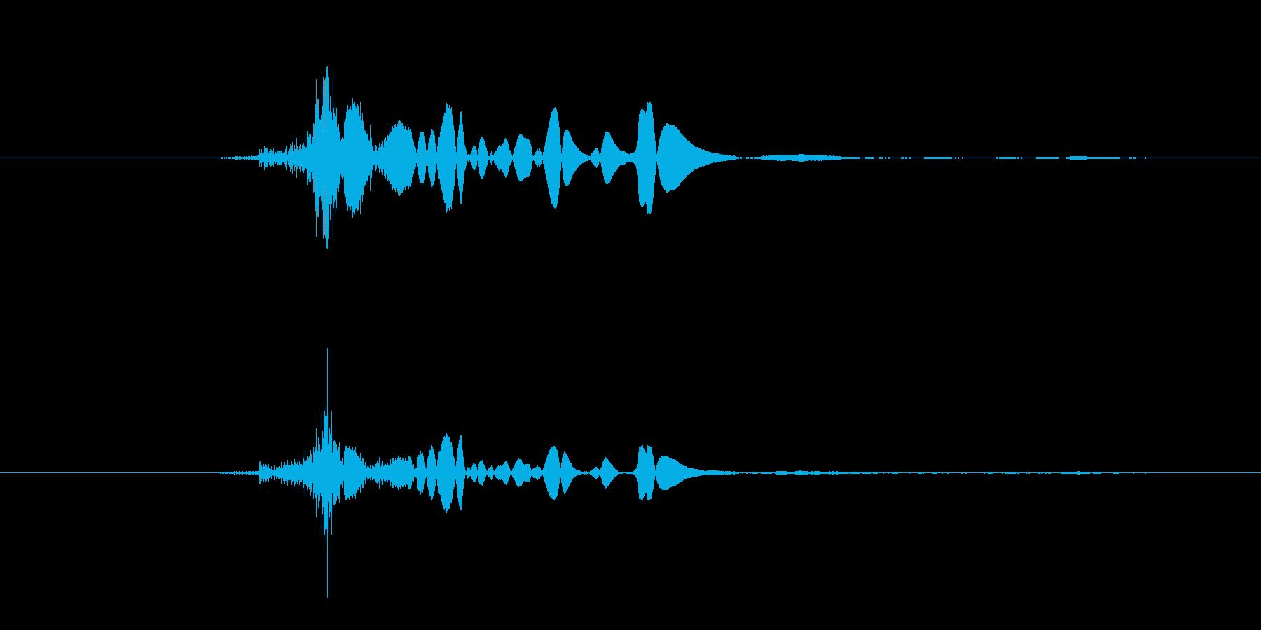 ジッポーライター着火音の再生済みの波形