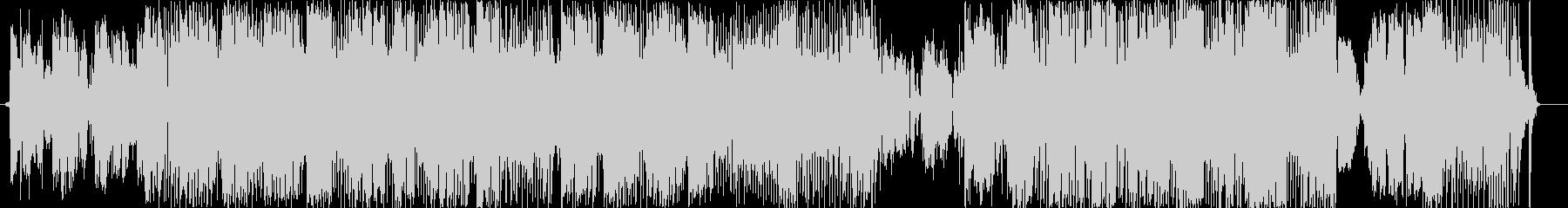 パノラマの未再生の波形