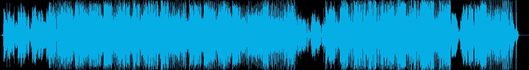 パノラマの再生済みの波形