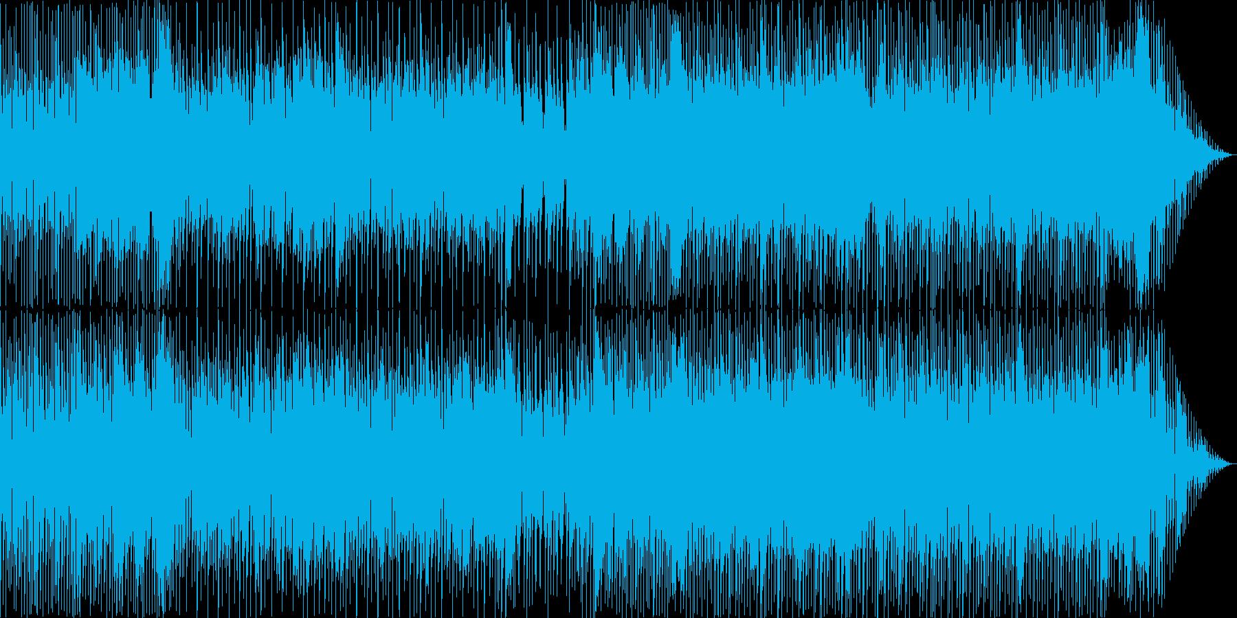 明るめエレクトロニカポップスの再生済みの波形
