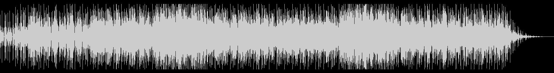 アーバンでメランコリックなボサノヴァの未再生の波形