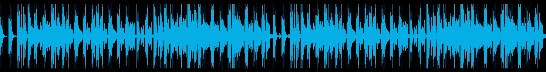 【ループ版】YouTube 南国の再生済みの波形