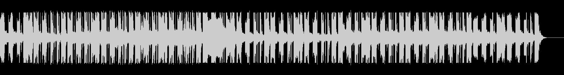 ネオソウルギターとローファイヒップホップの未再生の波形