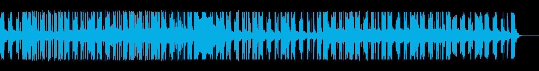 ネオソウルギターとローファイヒップホップの再生済みの波形
