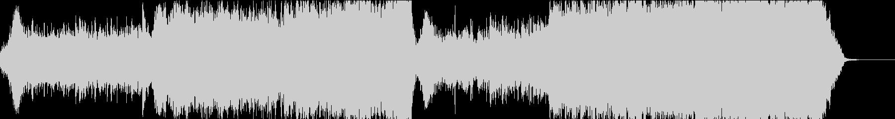 映画 爽やかで明るいエピックオーケストラの未再生の波形