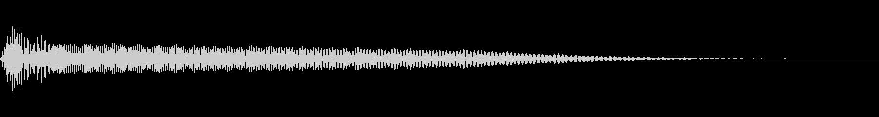 電気ウナギ、サブドロップ。 2チャ...の未再生の波形