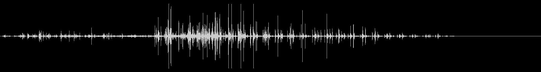馬-ギャロップ5の未再生の波形