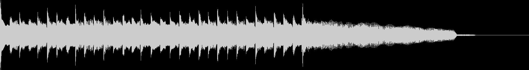 クリーン・ギターのアルペジオ【不気味さ】の未再生の波形