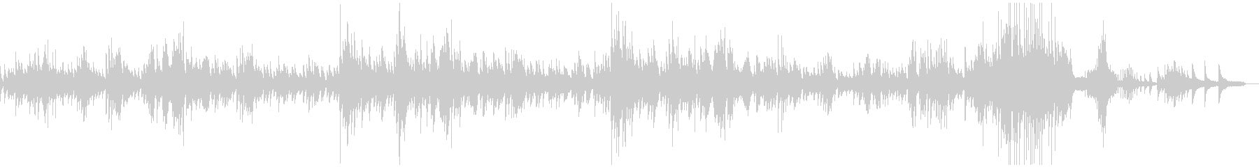 ショパンのノクターン2番原曲の未再生の波形