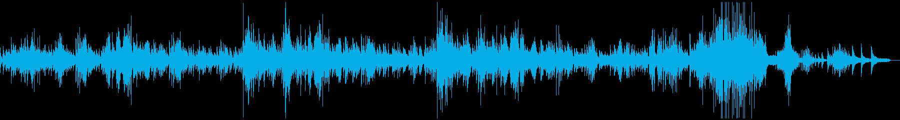 ショパンのノクターン2番原曲の再生済みの波形