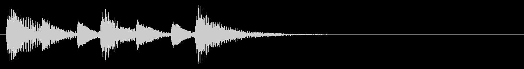 木琴 ミステリアス ほのぼの ジングル の未再生の波形