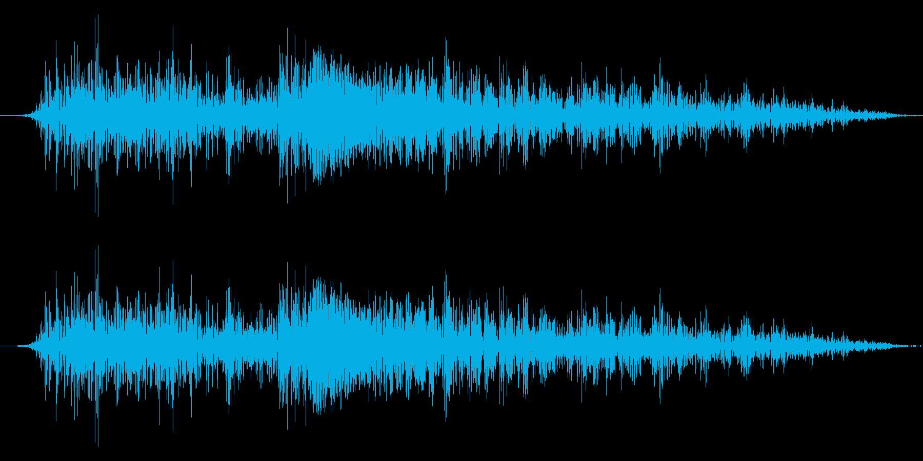 ドラゴンモンスター キャラタップ 悲しいの再生済みの波形