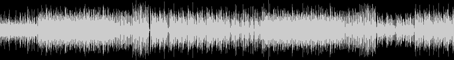レトロゲームをイメージ 電子音 ループの未再生の波形