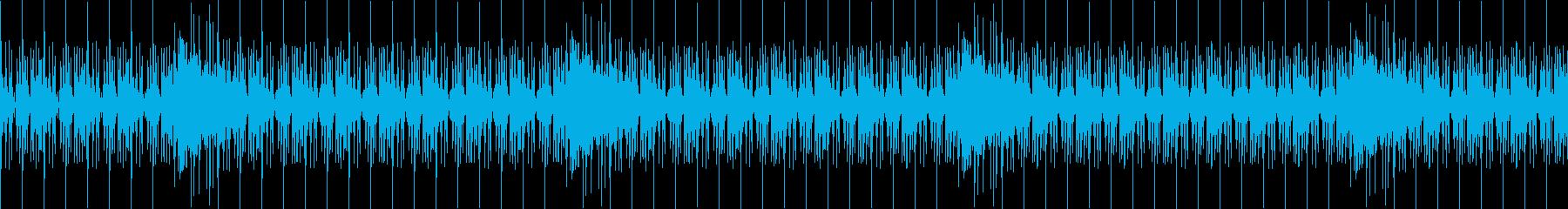 【アフリカ大草原・ドキュメンタリー】の再生済みの波形