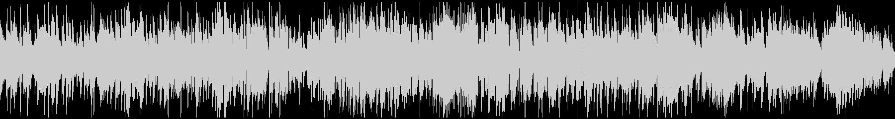程よいテンポ感のまったりジャズ※ループ版の未再生の波形