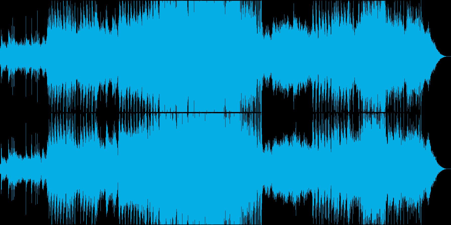 エレクトロ 交響曲 バトル 焦り ...の再生済みの波形