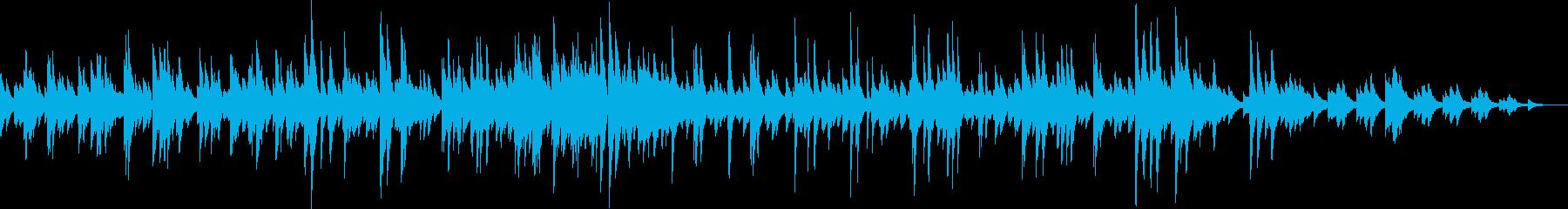 ジャジーなピアノクリスマスメドレーの再生済みの波形