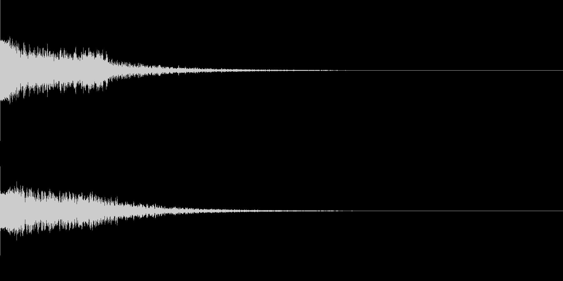 違和感、不穏、不気味な不協和音-C6の未再生の波形