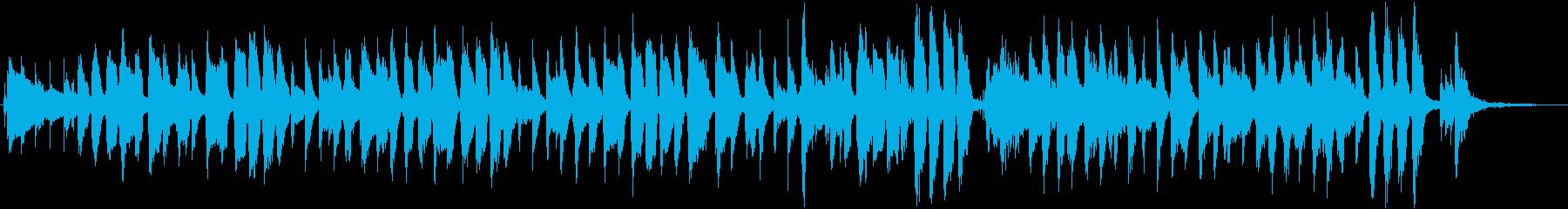 たまねぎをテーマにした楽曲の再生済みの波形
