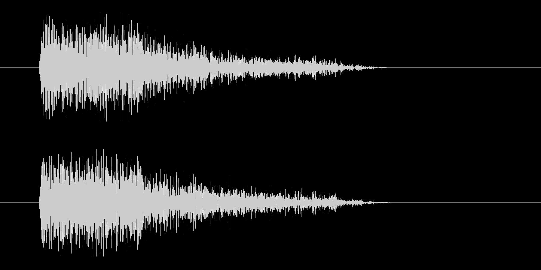 レーザー音-91-3の未再生の波形