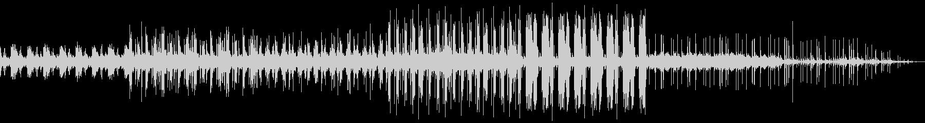 ピアノの旋律が独特な切ないバラードの未再生の波形