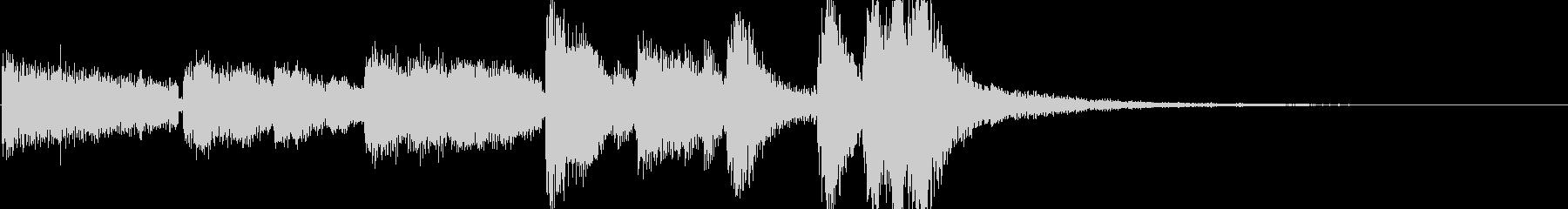 キャラクターに用いられる音楽の未再生の波形