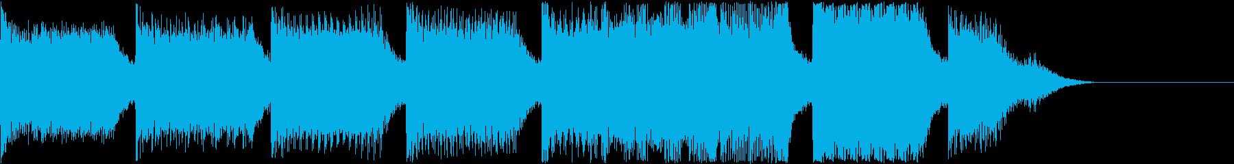 AI メカ/ロボ/マシン動作音 13の再生済みの波形
