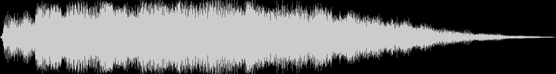 ピアノエレガントの未再生の波形