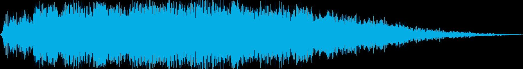 ピアノエレガントの再生済みの波形