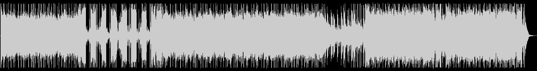爽やか/バンドサウンド/生演奏No510の未再生の波形