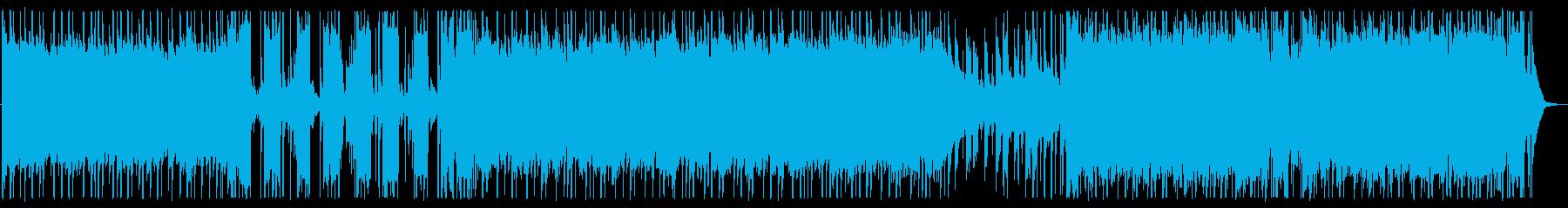 爽やか/バンドサウンド/生演奏No510の再生済みの波形
