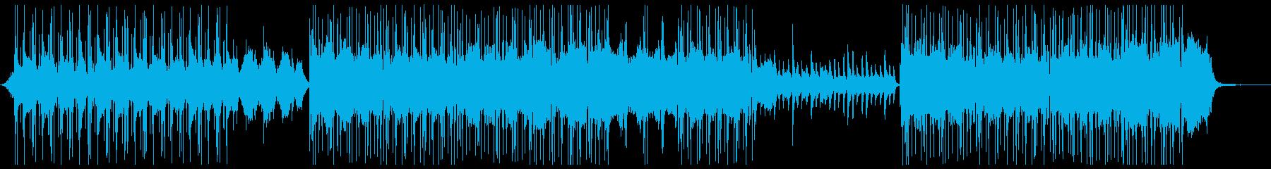 リラックス_深呼吸の再生済みの波形