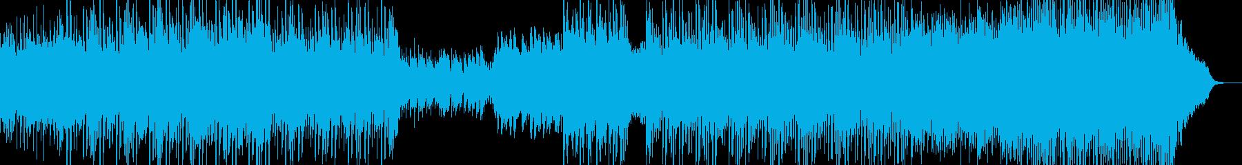 星空 夜の風景、ムードに適したBGMの再生済みの波形