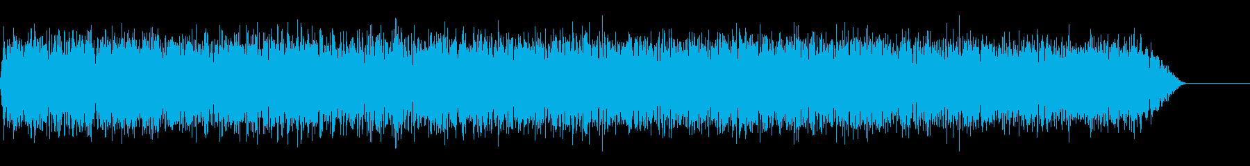 シャー!(ホワイトノイズ/レーザー/斬撃の再生済みの波形
