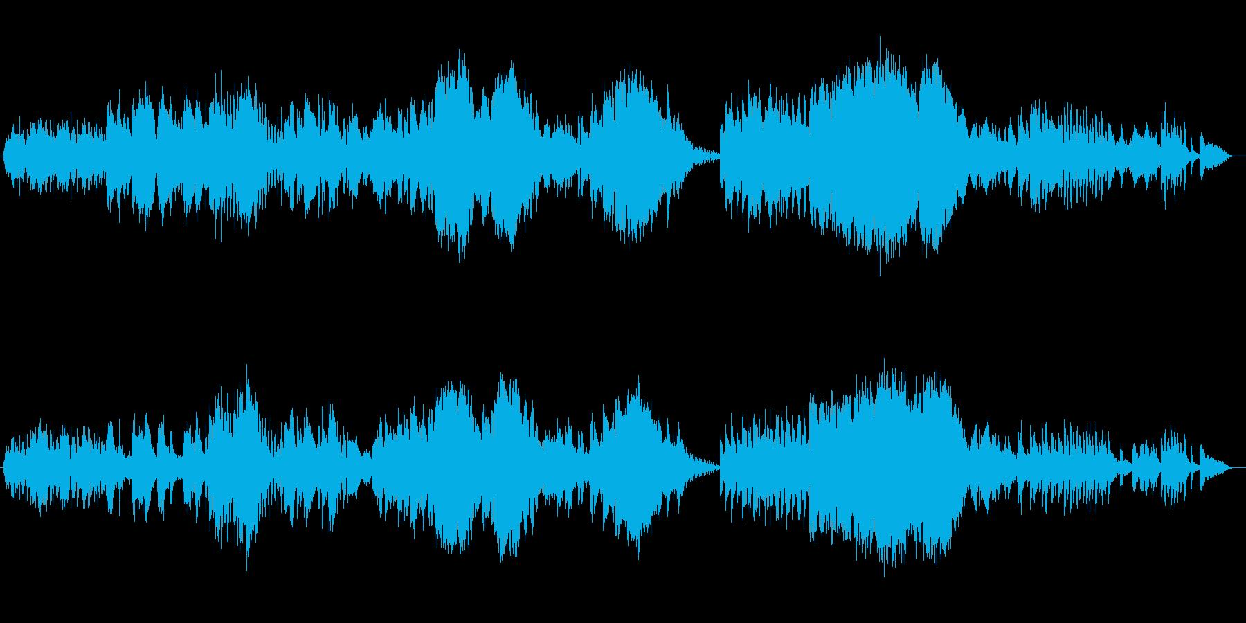 透明感と優しいシンセサイザーサウンドの再生済みの波形